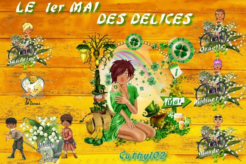 1ER MAI DES DELICES Cathy212