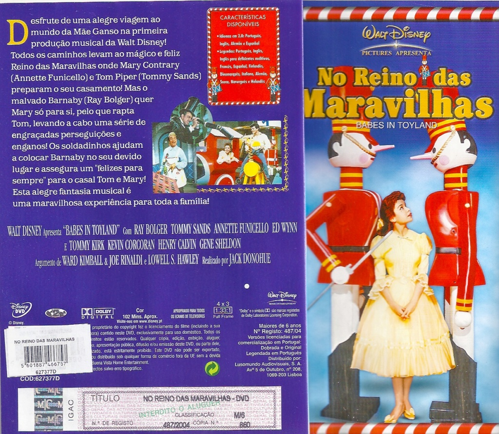 Babes in Toyland [Disney - 1961] No_rei12
