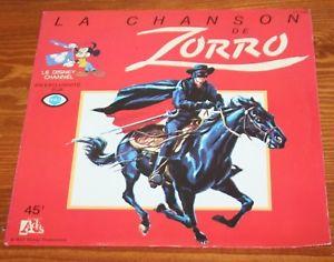 Signé Zorro [Disney - 1958] S-l30012