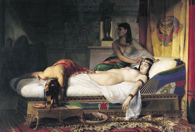 la mort de Cléopâtre - Terminé Clyopa12