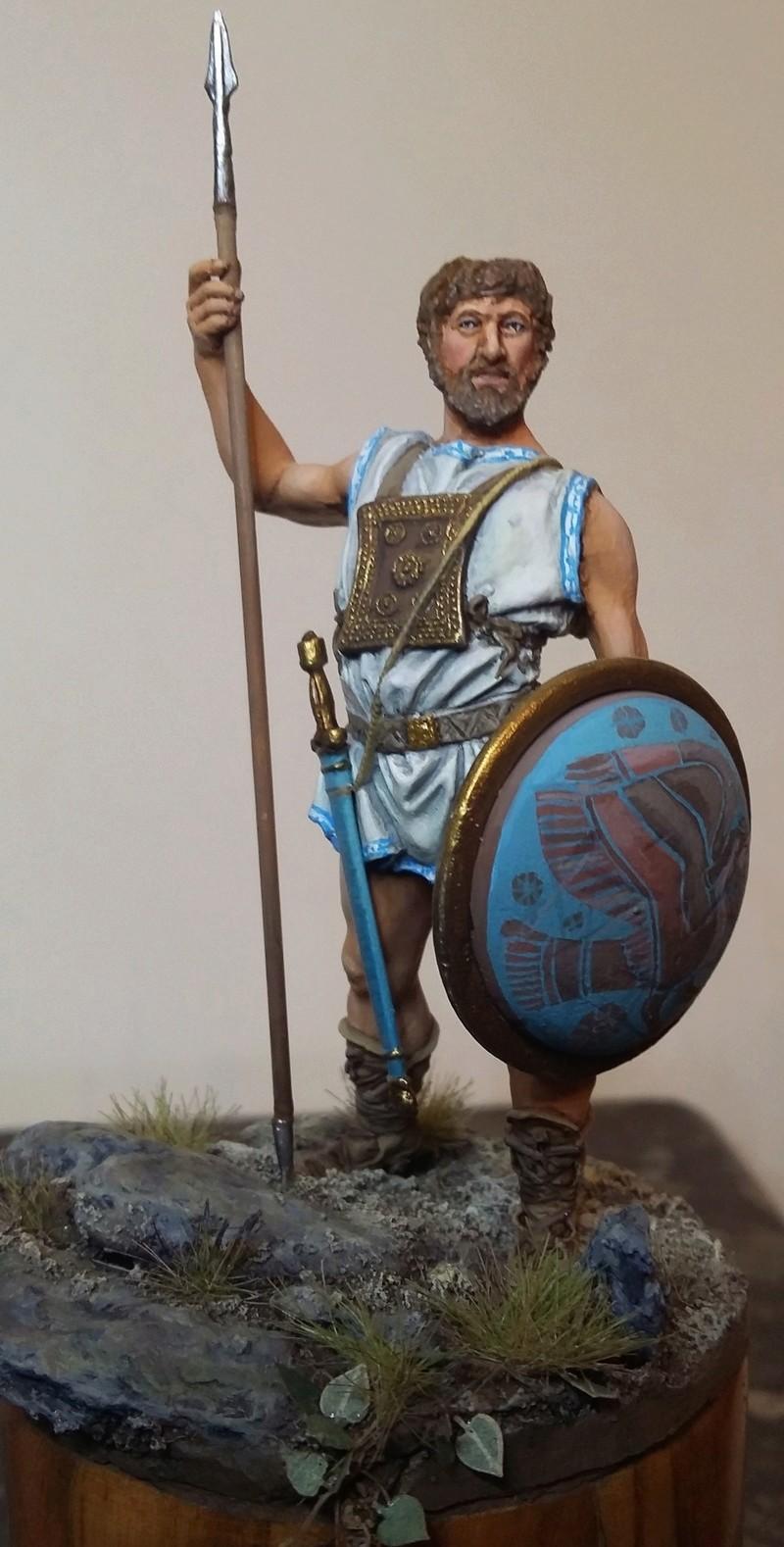 Guerrier Etrusque Villanovien par BONO Ulysse10
