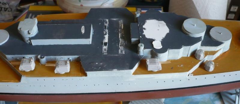 Cuirassé projet La Gascogne sur base Heller 1/400 - Page 7 P1240717