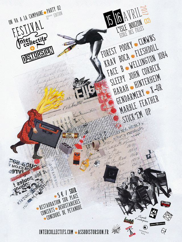Festival interco à l'isle bouzon du 15 au 17 Avril Affich13
