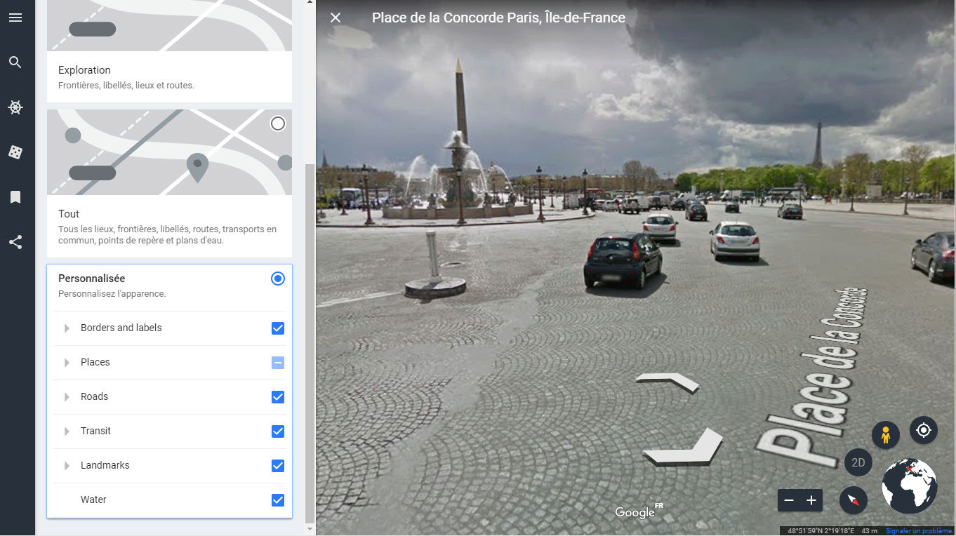 Nouveau Google Earth le 18 AVRIL 2017 Captur59