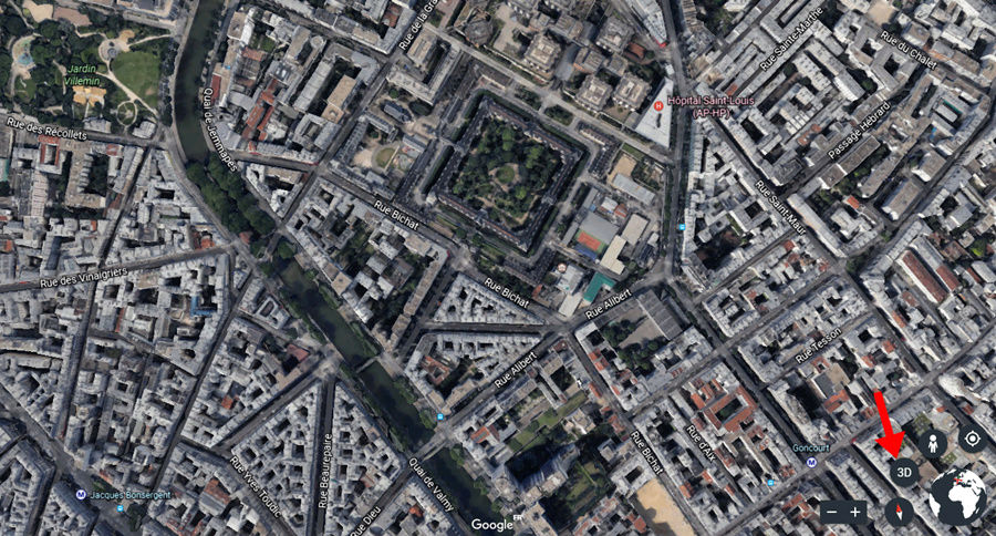 Nouveau Google Earth le 18 AVRIL 2017 Captur64