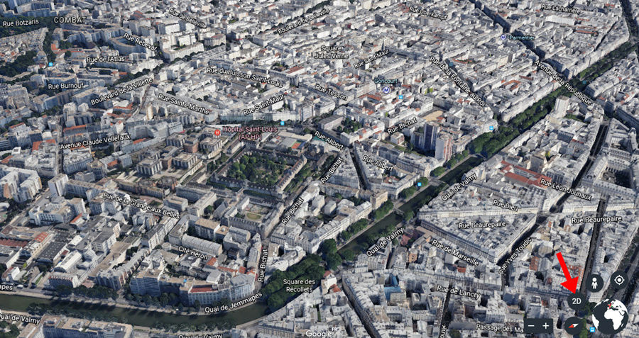 Nouveau Google Earth le 18 AVRIL 2017 Captur65