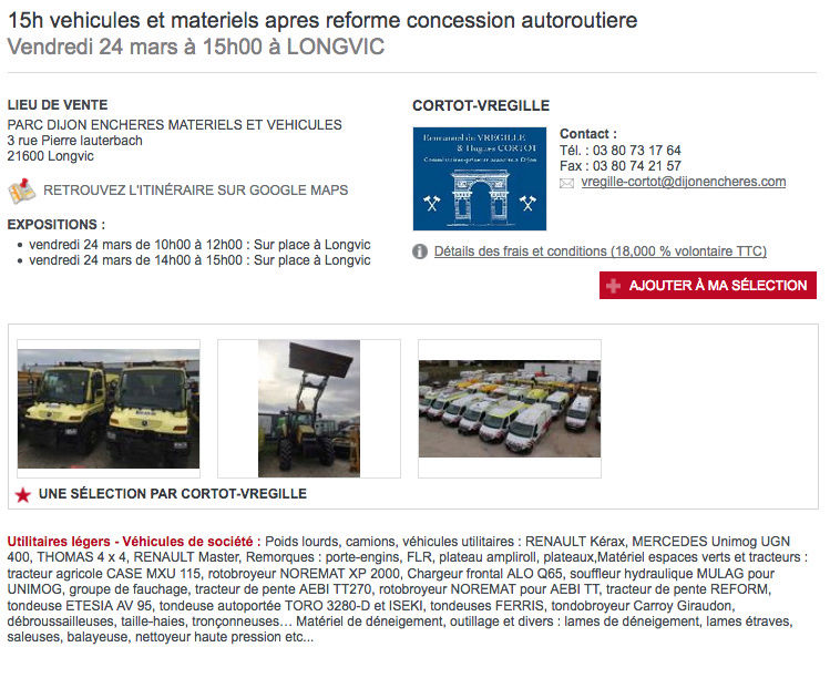 Vente aux enchères de deux Unimog U400 de 2007 autour de 50 000 kms Captur10