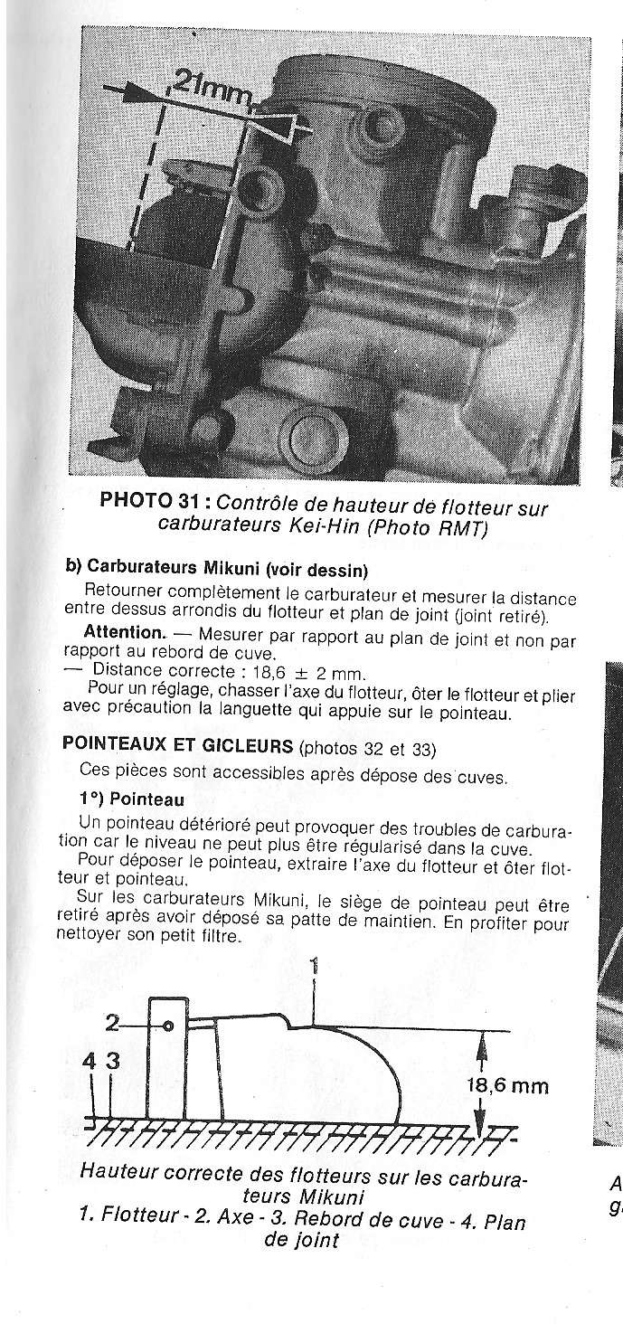 Réglage carbus BS 34  sans filtre  Crob1010