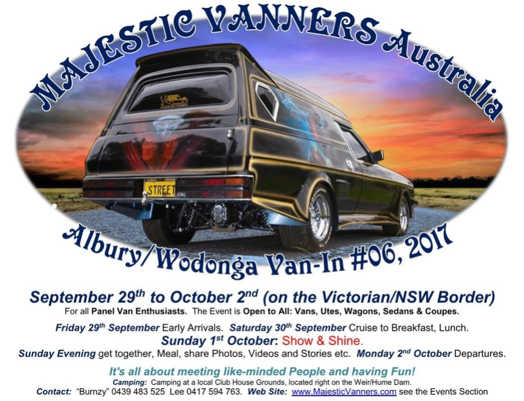 2017 Van-In #06 Albury/Wodonga; #02 Hervey Bay: 29th September to 2nd October. 2017_f26