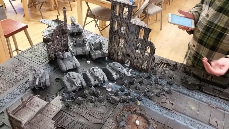 Ynnari with Yncarne VS Imperial Guard 20170310