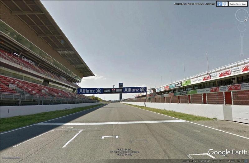 Roulez sur les circuits automobile et moto avec Street View Barcel10
