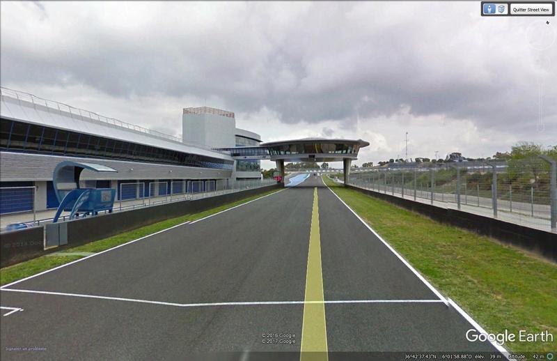 Roulez sur les circuits automobile et moto avec Street View Jerez10