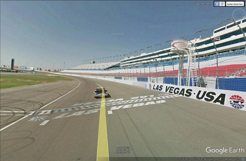 Roulez sur les circuits automobile et moto avec Street View Lasveg10