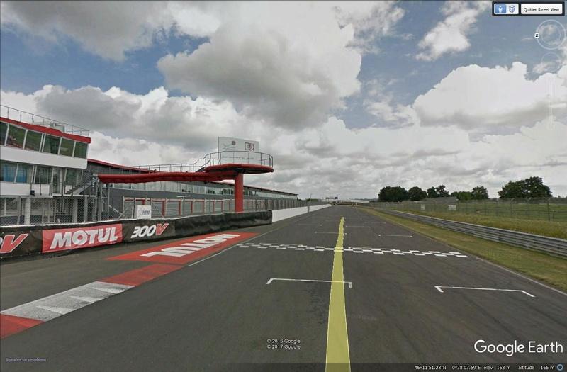Roulez sur les circuits automobile et moto avec Street View Valdev10