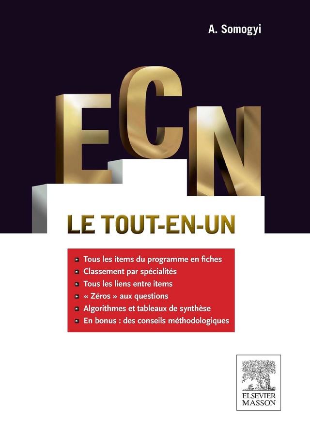 Livres Médicales - ECN: Le tout-en-un Ecn_le10