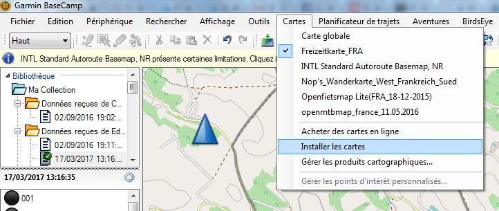 Tuto3_Télécharger et installer gratuitement des cartes sur votre GPS GARMIN F10