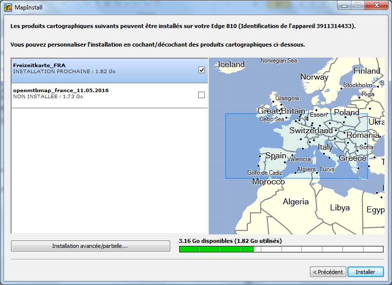 Tuto3_Télécharger et installer gratuitement des cartes sur votre GPS GARMIN H10