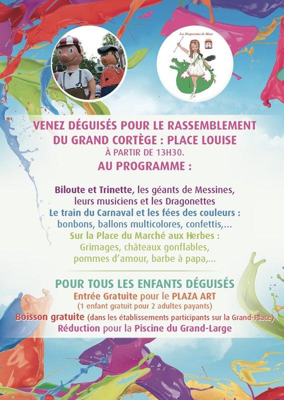 mars - Samedi 4 mars 2017 carnaval des Carnaval des Couleurs de Mons Carnav28