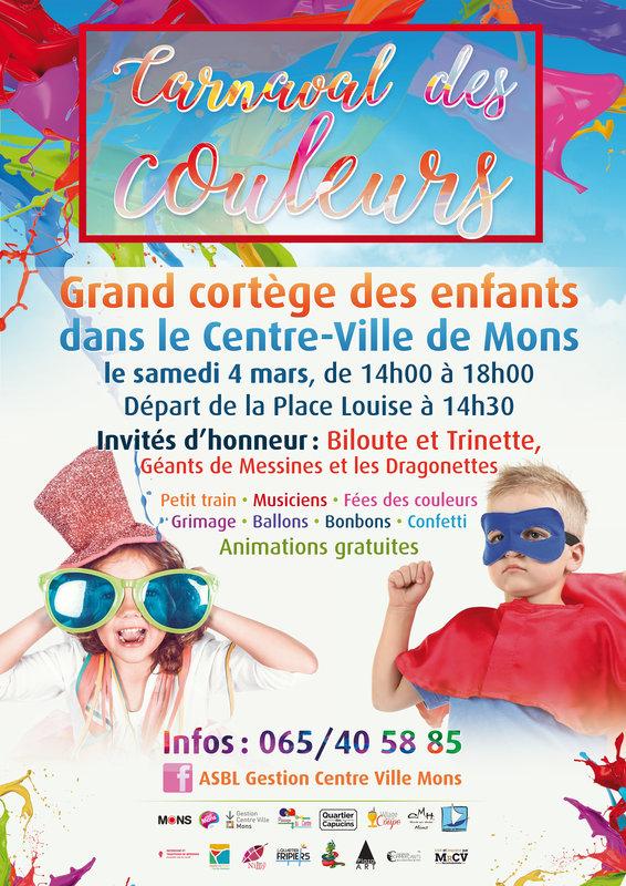 mars - Samedi 4 mars 2017 carnaval des Carnaval des Couleurs de Mons Carnav29