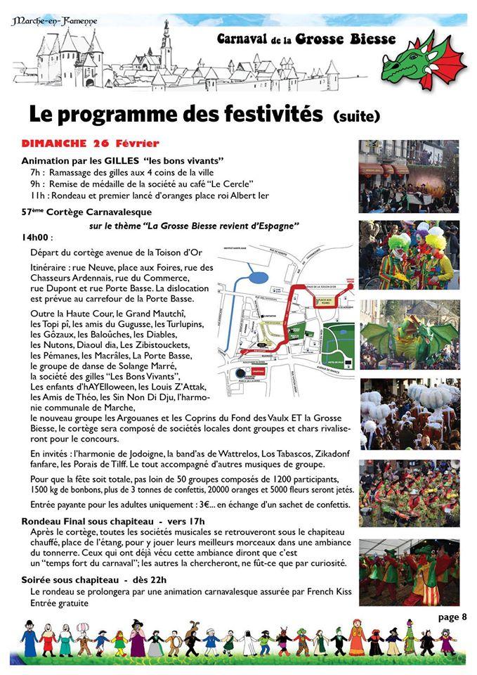 grosse - PROGRAMME 2017 FESTIVITES DEU CARNAVAL DE LA GROSSE BIESSE Progra10