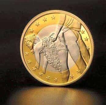 La nouvelle pièce d'un euro 18033910