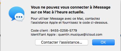 [Résolu] iMessage non fonctionnel mais iCloud fonctionnel Captur10