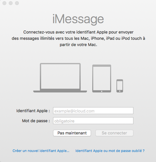 [Résolu] iMessage non fonctionnel mais iCloud fonctionnel Captur14