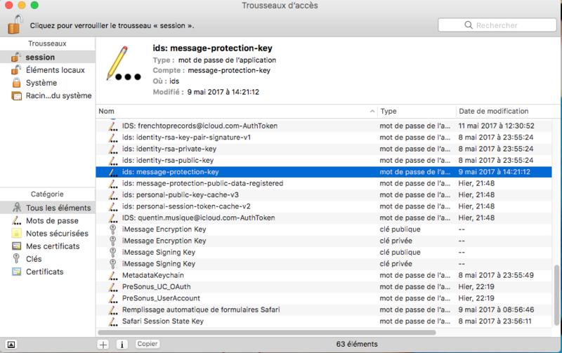 [Résolu] iMessage non fonctionnel mais iCloud fonctionnel - Page 3 Captur18
