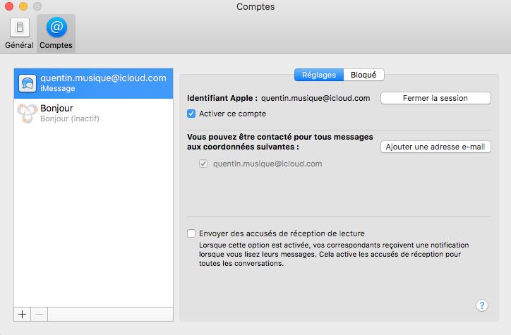[Résolu] iMessage non fonctionnel mais iCloud fonctionnel - Page 3 Captur19