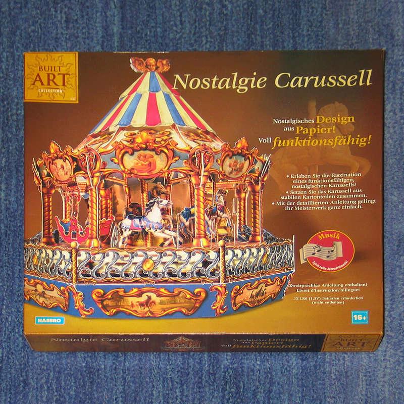 Nostalgie Carussell von HASBRO /  Built Art Img_0012