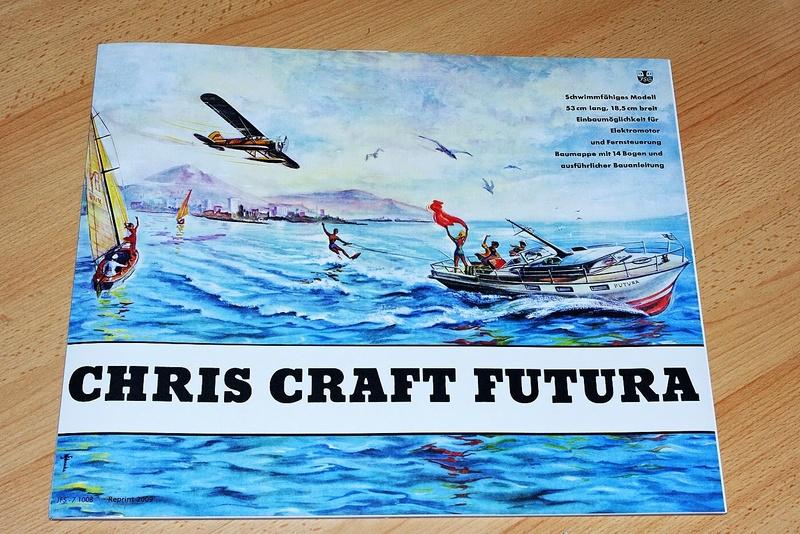 chris craft futura - Motorboot Chris-Craft Futura 1:20 (1959) Reprint Schreiber-Verlag (2009) - Seite 2 Imgp9917