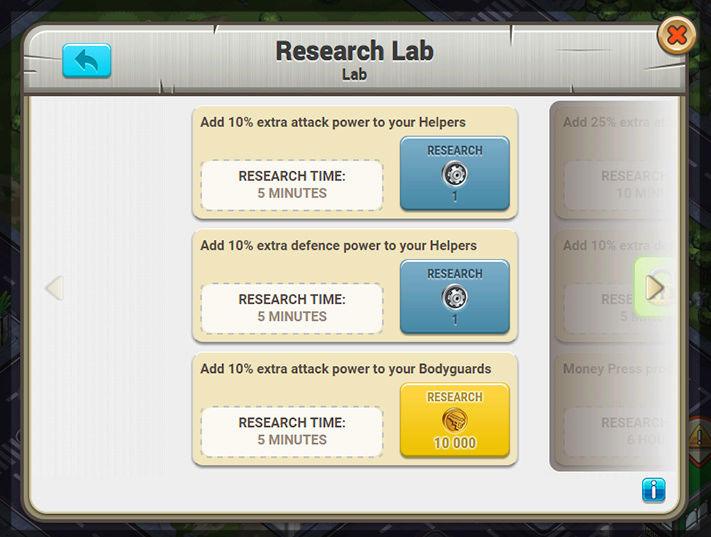 Les points de recherches Labo_d10
