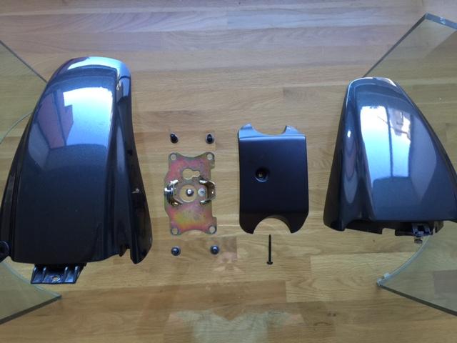 FS: 93 K100RS front end, front fender, and 87 K100LT handlebars Img_3816