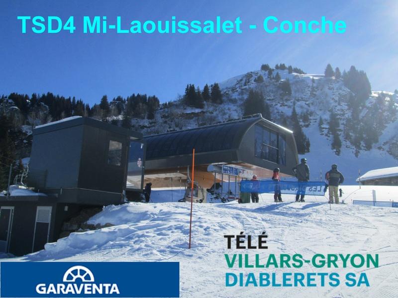 Télésiège débrayable 4 places (TSD4) Mi-Laouissalet - Conche  Titre_10