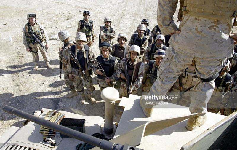 Post-Invasion Black Iraqi Body Armor Vest 52224810