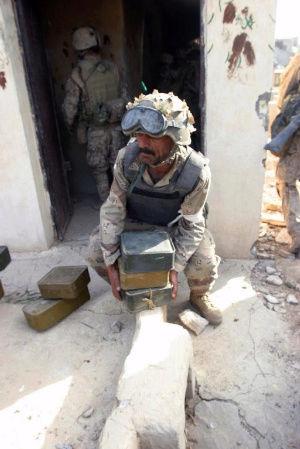 Post-Invasion Black Iraqi Body Armor Vest Blackv10