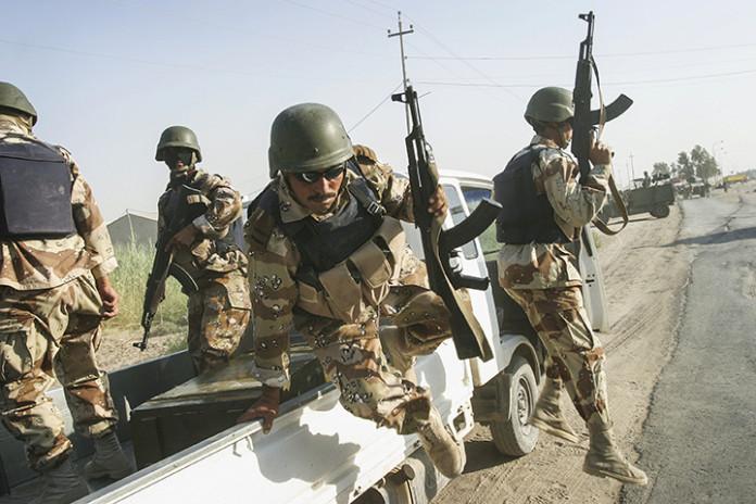 Post-Invasion Black Iraqi Body Armor Vest Fb_20010