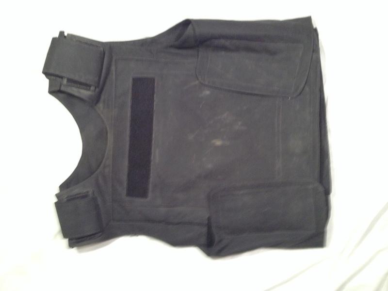 Post-Invasion Black Iraqi Body Armor Vest Img_2635
