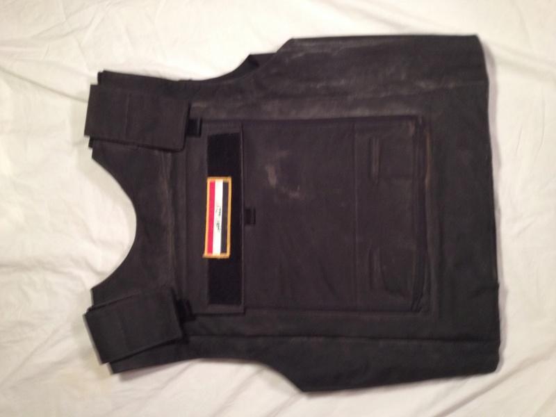 Post-Invasion Black Iraqi Body Armor Vest Img_2636