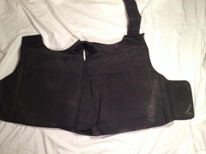 Post-Invasion Black Iraqi Body Armor Vest Img_2637