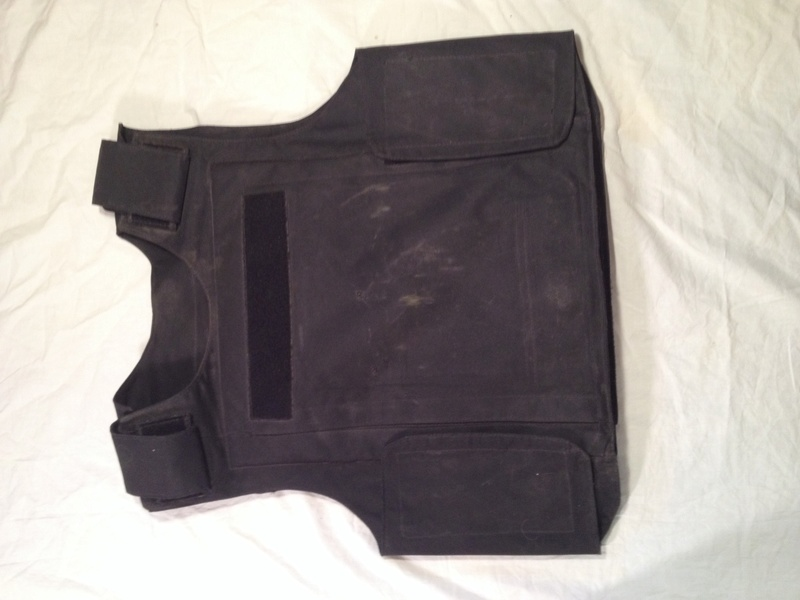 Post-Invasion Black Iraqi Body Armor Vest Img_2641