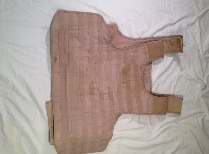 Post-Invasion Tan Iraqi Body Armor Vest with MOLLE Img_2715
