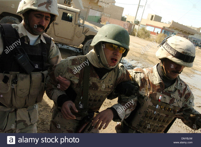 Post-Invasion Black Iraqi Body Armor Vest Jan-2210