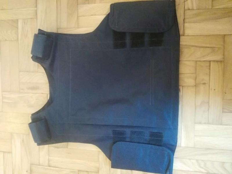 Post-Invasion Black Iraqi Body Armor Vest S-l16014