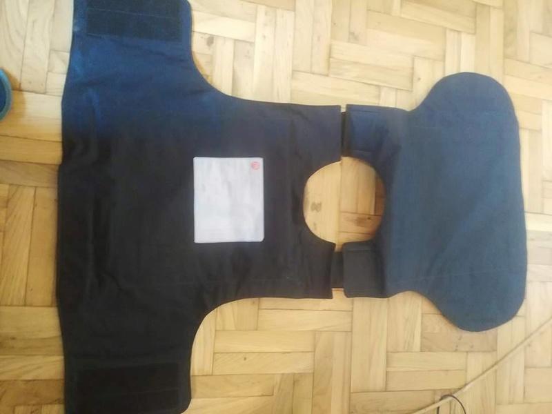 Post-Invasion Black Iraqi Body Armor Vest S-l16015