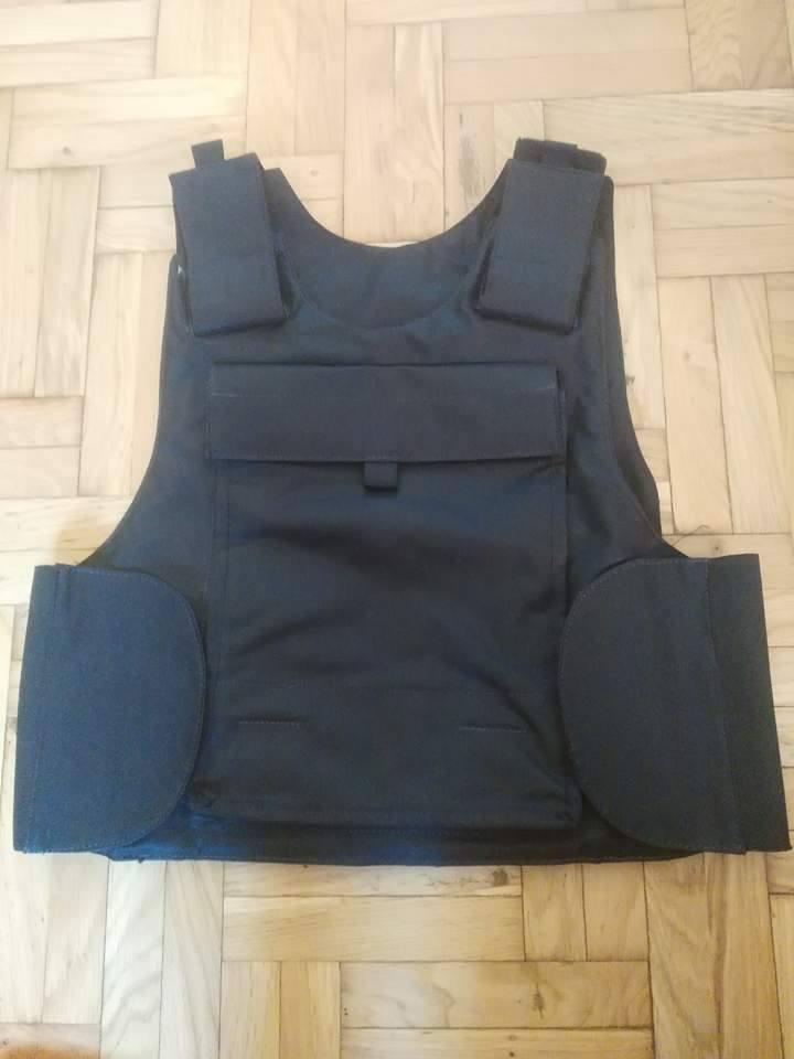 Post-Invasion Black Iraqi Body Armor Vest S-l16017