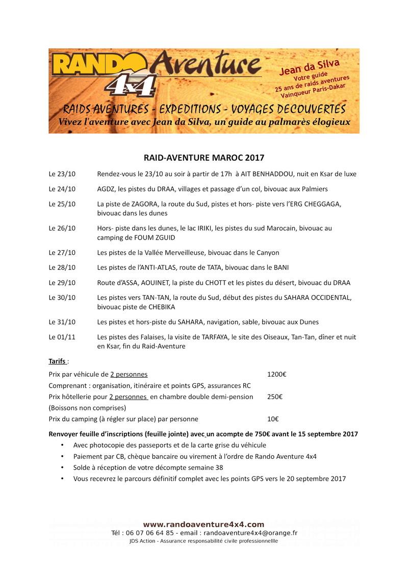 Maroc octobre 2017 - Rando Aventures Zzraid11