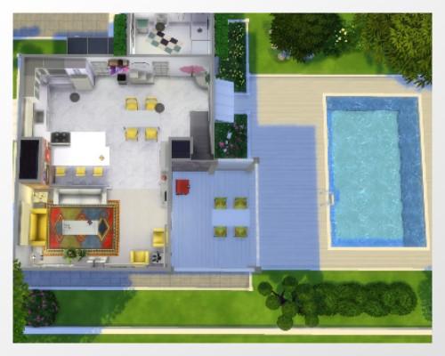 TS 4 Lillys little House Unbena15