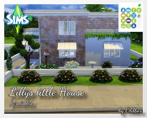 TS 4 Lillys little House Unbena20