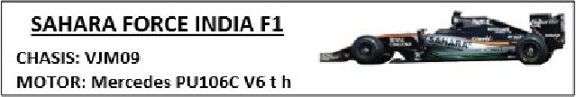 SAHARA FORCE INDIA F1 AVANTI Forcei10